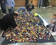 Organizing Legos! How to Sort & Store Legos article... Several storage ideas...