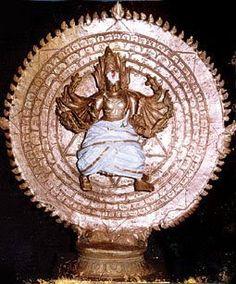 SRI SUDARSHANA CHAKRA OF VISHNU.