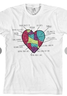 6d63e69fdb Things That I Love Tee (White) T-Shirt - Tyler Oakley T-Shirts - Official  Online Store on District Lines