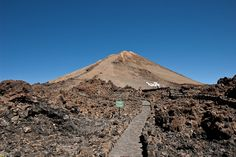Ruta de subida al pico del Teide #subiralteide #Tenerife #IslaCanarias