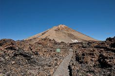 Ruta de subida al pico del Teide