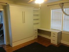 Save with a space home office murphy bed