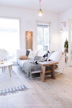 Nordic home with Winter touches / Hermosa casa nórdica con detalles invernales // casahaus.net