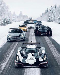 "39.5k Likes, 109 Comments - Blacklist Lifestyle | Cars (@black_list) on Instagram: ""The Snow Tour! | Photo by @oskarbakke | @jonolsson1 | #blacklist #praga #mercedes #amg #bmw #porsche"""