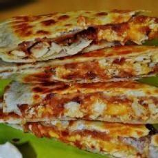 Carla's Bacon and Chicken Quesadillas