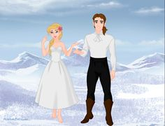 Rosella (Ro) and Prince Antonio from Barbie as the Island Princess