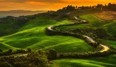 Road in Tuscany (Italy) by Paweł Uchorczak - 500px