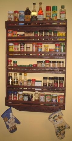 Need Unique And Large Spice Rack