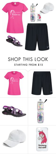 """""""&& ~ Lydia's Contest / Day 5: Hiking"""" by flawed-and-fearless ❤ liked on Polyvore featuring NIKE, Chaco, Victoria's Secret, rag & bone, Miss Selfridge and lydhcontestsummer"""