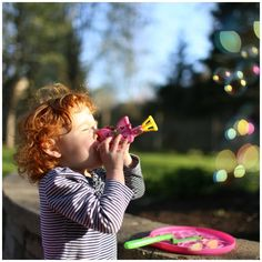 Simple Ideas for Outdoor Toddler Play