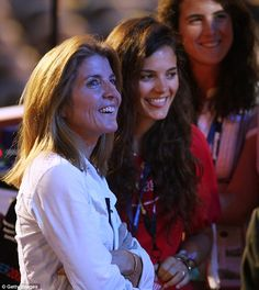 Caroline Kennedy is seen with daughters Rose Schlossberg, center, and Tatiana Schlossberg, right, in this 2008.