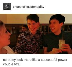 power couple dan and phil - Google Search