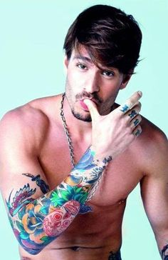 Mateus Verdelho~ I'm not a fan of men with tattoos but It seems like everyone has a tattoo these days.