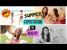 Summer Expectation vs Reality - YouTube