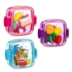 Image for Yums Scented Eraser Tub from Smiggle UK