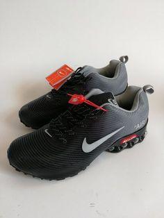 08fd46f6e8b6 Mens Nike Air Shox KPU Black Wolf Grey Footwear NIKE-NSZ002746