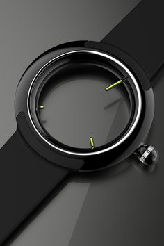 This is the most beautiful design for a minimalist watch I've ever seen: It's by ID professor Simon Williamson, he of the fantastical concept vehicle designs. It's called the ASIG - nohero/nosky Concentric D., and as far as we can tell it's a concept and not in production. In some