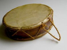 Medieval Drum small goatskin Tabor by MonteViola on Etsy, $22.00