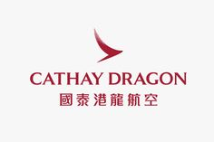 The new logo for Cathay Dragon