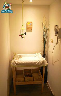 Mastro Festa - area Pit Stop, per mamme con neonati per un cambio veloce, comodo e igienico