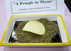"""A Pringle in Time""   Edible Book Festival 2011 Entries  ·  University of Puget Sound"