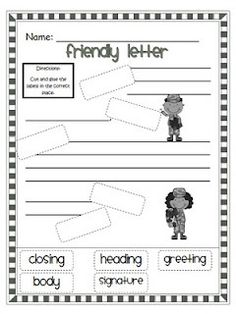 letter writing school-ideas