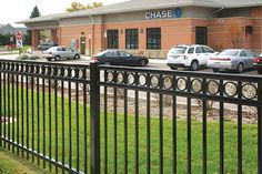 iron fence designs - Google Search