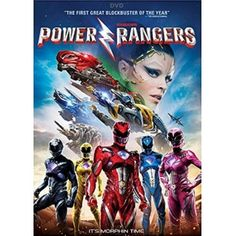 Saban's Power Rangers (DVD 2017) DVD Closeout Sale! Ships Free-Brand New!