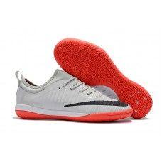 promo code 18588 ae903 Nike inomhus fotbollsskor Mercurial Finale II IC Gra Svarta Rod Herr