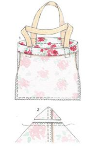 Sew a handmade shopping bag :: Free sewing pattern :: allaboutyou.com