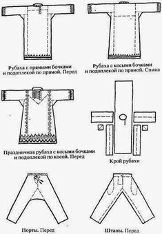Folk costume (History of Russian material culture) - Cossack shop. Cossack store (on the Volga).