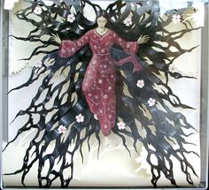 Il ballo di Teodora,2012,acrylic on paper.