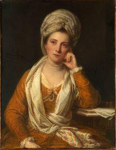 https://flic.kr/p/nQHxm9   Mrs. Horton, Later Viscountess Maynard   18th century. Oil on canvas. 92,1 x 71,1 cm. The Metropolitan Museum of Art, New York. 45.59.3.