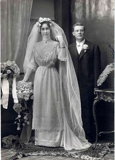 Wedding Photo, c.1910-1911