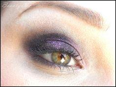 glittery eye make up with fyrinnae