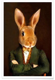 Buy Posters and Wall Art Prints Online Hirsch Illustration, Lapin Art, Rabbit Pictures, Art Prints Online, Rabbit Art, Bunny Art, Animal Heads, Cat Art, Pet Portraits