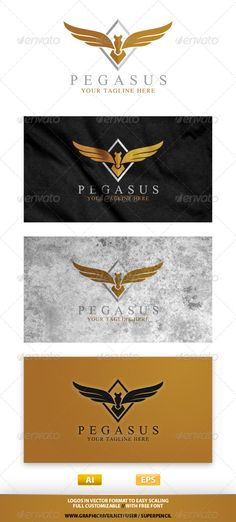 Buy Pegasus Logo by SuperPencil on GraphicRiver. If you are looking for a simple creative logo, Pegasus Logo Template is an excelent logo template suitable for your c. Graph Design, Logo Design Template, Logo Templates, Logos, Typography Logo, Pegasus Logo, Fantasy Logo, Unicorn Logo, Automotive Logo