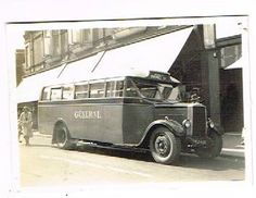 Old Motor Bus Photograph Leyland Cub at Gravesend Kent Vintage 1934 | eBay