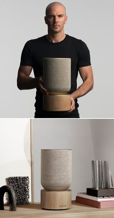 Beosound Balance: a powerful and poetic home speaker Design Products, Product Design, Bang And Olufsen, New Condo, Speaker Design, Interior Decorating, Interior Design, Bottle Design, Industrial Design