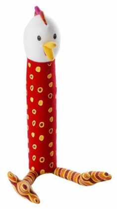 Lilliputiens Ophelie Hen Rattle by Lilliputiens. $16.31. This cute little squeaker is bound to bring a lot of joy to your little ones.