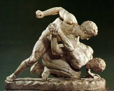 Exploring the ancient roots of MMA, such as Greek Pankration.