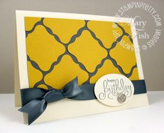 Stampin'Pretty by Mary Fish  PUNCH - Wide Oval Punch