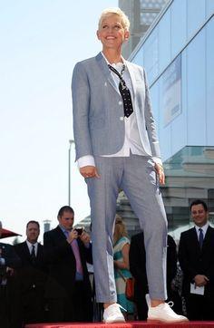 Ellen Degeneres on the Walk of Fame