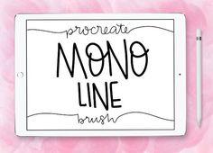 Mono Line Procreate