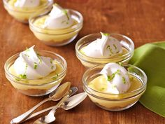 Individual Key Lime Pies recipe from Ree Drummond via Food Network