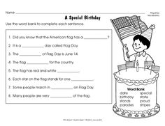 flag day vocabulary answers