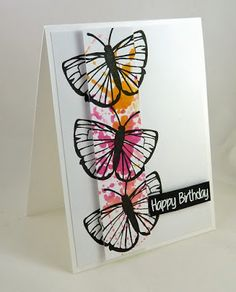 Cards-by-the-Sea: Happy Little Stamper January CAS Challenge Guest Designer...Happy Birthday