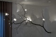 cool branch lighting