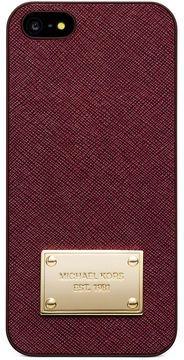 MICHAEL Michael Kors iPhone 5 Case, Saffiano Leather on shopstyle.com