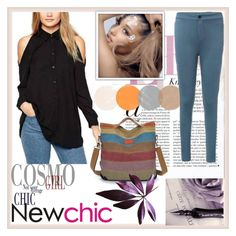 """""""NEWCHIC.COM 2"""" by damira-dlxv ❤ liked on Polyvore featuring mode"""
